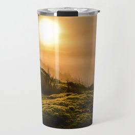 Foggy Sunrise Travel Mug