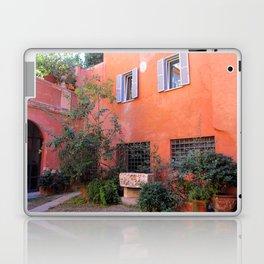 Trasvtevere Courtyard Laptop & iPad Skin
