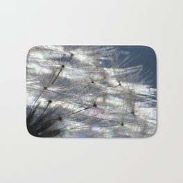 Dandelion Abstract ( Landscape version ) Bath Mat