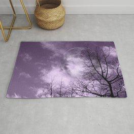 Purple Night  - JUSTART © Rug
