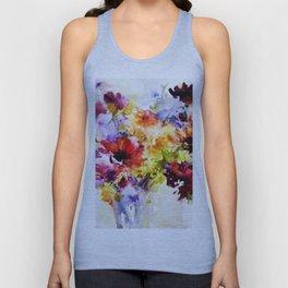 Floral Art Unisex Tank Top