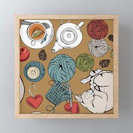 home cosiness Framed Mini Art Print