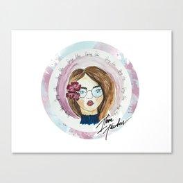 Spring Vibes, Fashion Illustration Canvas Print