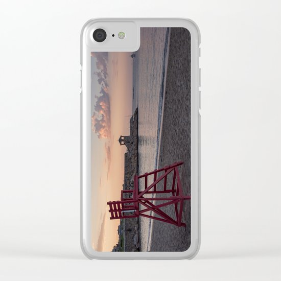 Front Beach After Hours Clear iPhone Case