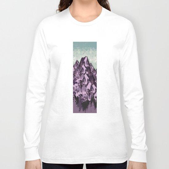 The Great, Great Night Mountain No. 7 Long Sleeve T-shirt