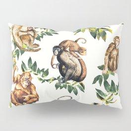 Monkeys, orangutans and more Pillow Sham