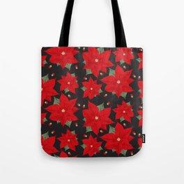 Poinsettia Tote Bag