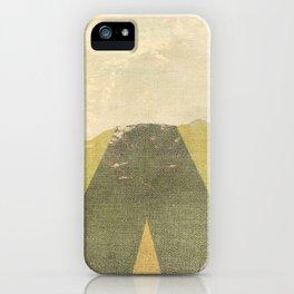 Patterned Horizon iPhone Case
