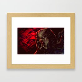 Predator Framed Art Print