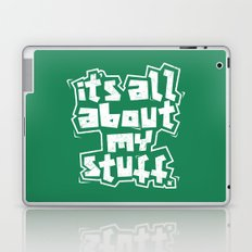 All about it. Laptop & iPad Skin