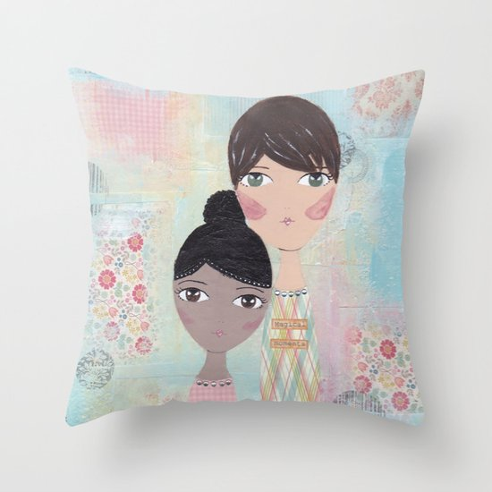 Magical moments Throw Pillow