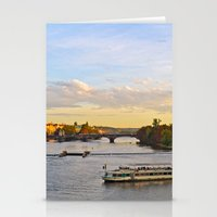 prague Stationery Cards featuring Prague by Barrettish