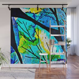 The time to bloom in flowers and colors. Celebrating the blossoming of life Wall Mural