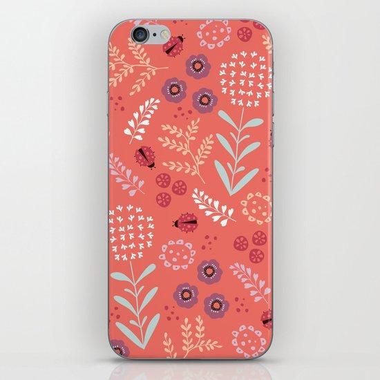 Little Ladybugs iPhone & iPod Skin