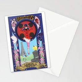 Miraculous Ladybug Nouveau Stationery Cards