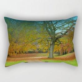 Autumn Leaves (2) Rectangular Pillow