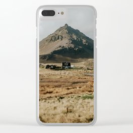 Mt. Stapafell, Snæfellsnes - Landscape Photography Clear iPhone Case