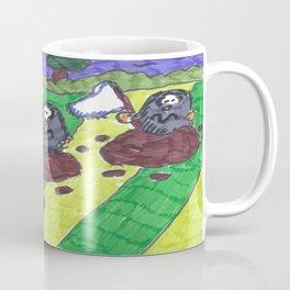 Surrendering Moles Coffee Mug
