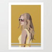 golden Art Prints featuring Golden by Anna McKay