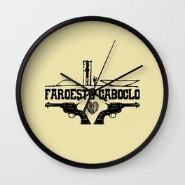 Faroeste Caboclo Wall Clock
