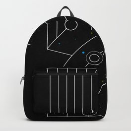 Galaxy Trendy Art Backpack