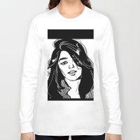 sky ferreira Long Sleeve T-shirts featuring Sky Ferreira by Priyanka Menon