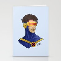 cyclops Stationery Cards featuring Cyclops by Matthew Bartlett