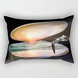 Sun in the shell Rectangular Pillow