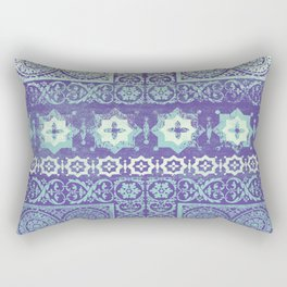 stars with tile patchwork in mauve Rectangular Pillow