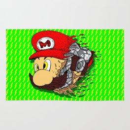 Mario disintegration Rug