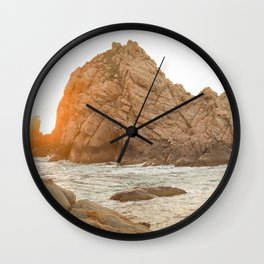 Sugarloaf Rock Wall Clock