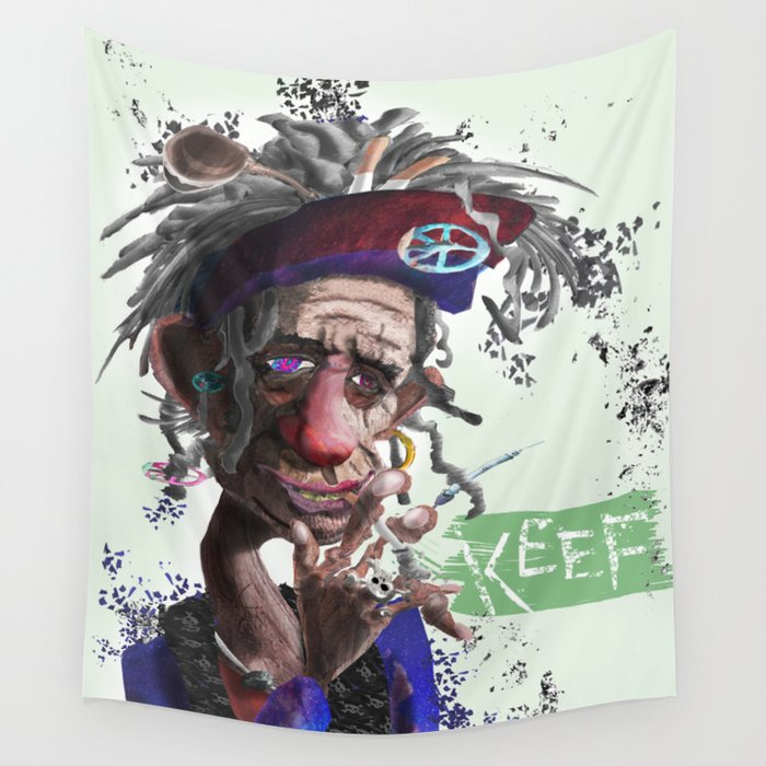 Keef Wall Tapestry