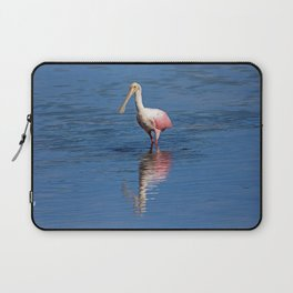 Roseate Spoonbill at Ding IV Laptop Sleeve