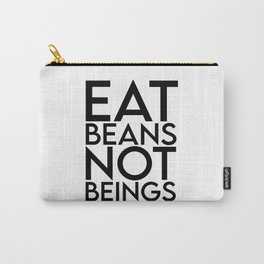 Vegan, cruelty free, organic, Funny vegan girl, vegetarian, plant based, animal rights Carry-All Pouch