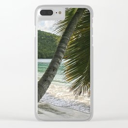 Maho Palms Clear iPhone Case