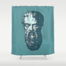 Heraclitus Shower Curtain