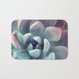 Mint Green Succulent Bath Mat