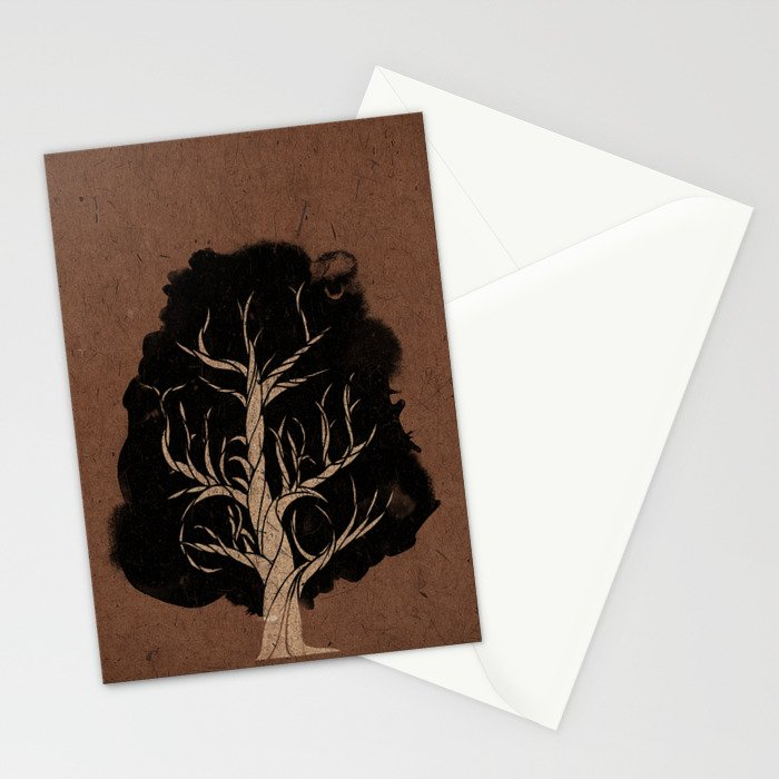 Let The Tree Grow Stationery Cards