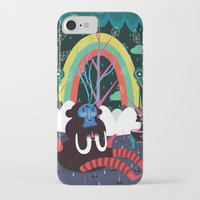 alone iPhone & iPod Cases featuring alone by Evren Yılmaz