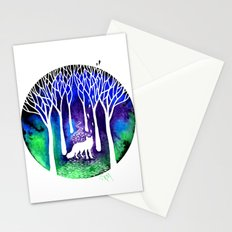 The Night Fox Stationery Cards