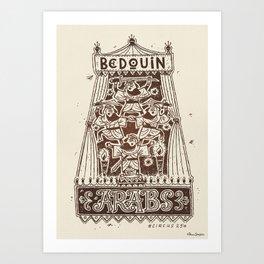 Bedouin Arabs #07 Art Print