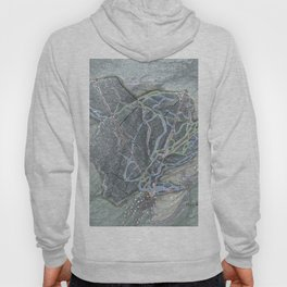 Mad River Glen Resort Trail Map Hoody