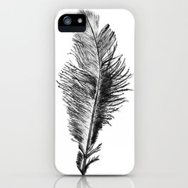 Free Falling Negative iPhone Case