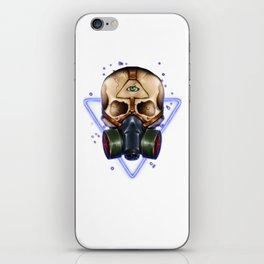 Toxic Galaxy iPhone Skin
