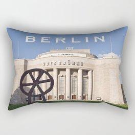 EAST BERLIN THEATRE - VOLKSBÜHNE Rectangular Pillow