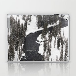 Yellowstone National Park - Lewis River Laptop & iPad Skin