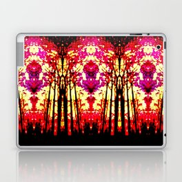 Sunset Stain Glass Laptop & iPad Skin