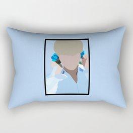 Flower Boy #1 Rectangular Pillow