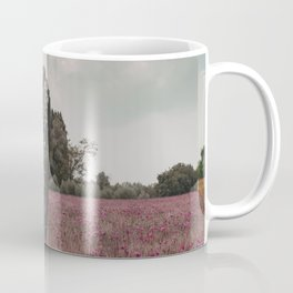 wild whale wood flower Coffee Mug