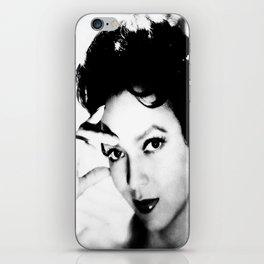 dorothy dandridge black & white photo iPhone Skin